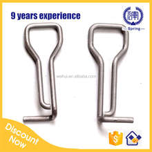 Weihui OEM torsion spring for hair clips/hairpin/ bobby pin supplier in china alibaba free sample