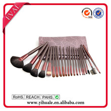 Eval 22 pcs brush make up with sable hair
