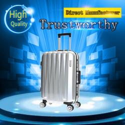 2015 wholesale elegant shape aluminum frame luggage cheap practical suitcase