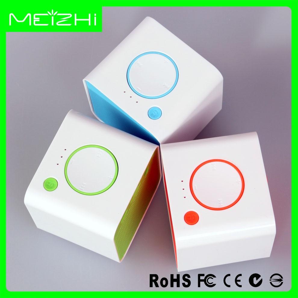 MP3 mini audio sans fil bluetooth haut-parleur