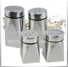 2pcs Stainless Steel Salt Shaker