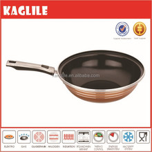 2015 New brand forged aluminium nonstick ceramic coated saute pan wok