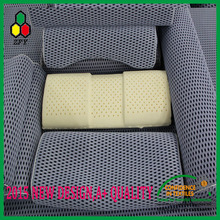 2015 hot sale grey color waterproof 100% polyester mesh fabric for zipper pillow case