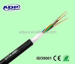GYTA/GYTA 53 fiber optic cable: steel reinforced Armored and Double sheathed Cable