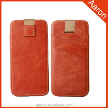 Special scratch leather case for iphone 6 leather case