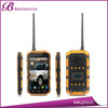 Hot sale 5 inch IP68 android Quad Core 1G 8G 3000mAh 2G 3G WIFI GPS BT 100 mile walkie talkie unbranded used mobile phone