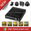 CE FCC MDVR Smallest size SD Card 4CH 3G WIFI G-Sensor GPS 1080P Mobile DVR