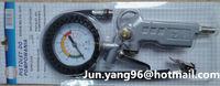 Tire inflator pressure gauge ECG-019B, digital tire gauge inflator