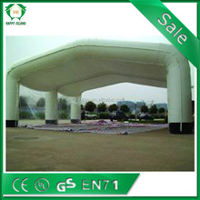 HI PVC inflatable tent\ clear inflatable tent camping\ inflatable family tent