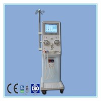 Hemodialysis machine price with two pumps and online dialysate