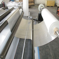 England standard fireproof aluminum foil woven fabric
