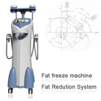 2015 belly fat reducing machine of himalaya medical with 2 handles