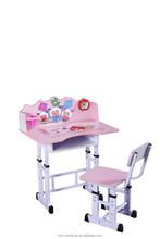 hotsale 2015 modern design kids study desk and table