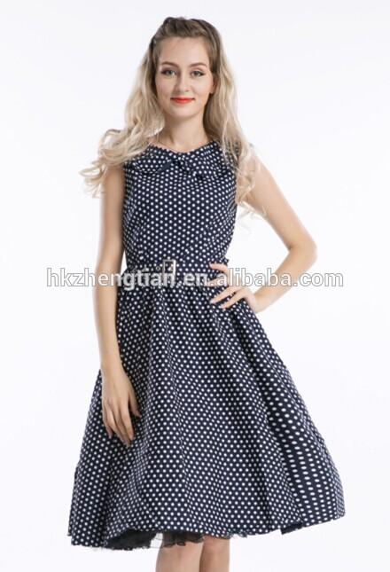 más barato 2014 bestdress r1010 azul marino rockabilly 50s vestido vestido de época