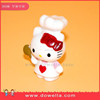 small plastic animal figurines cute kitten for promotion