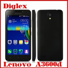 Lenovo A3600d Android 4.4 4G LTE Cell Phone 4.5 Inch Quad Core MTK6582M 512MB RAM 4GB ROM 5MP Mobile Phone Dual Sim Cheap Phone
