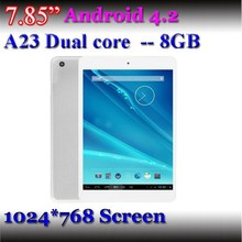 Front&Rear cameras A23 dual core tablet driver a23 mid android tablet