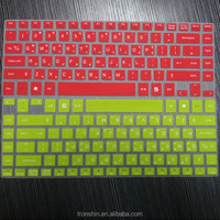 Eco-friendly Custom Made Silicone Printed Keyboard Cover for Macbook, LG, SAMSUNG, TOSHIBA, DELL, HP, etc.