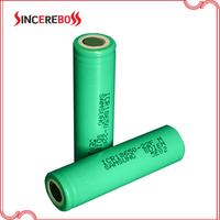 samsung icr18650-22f/fm 2200mah 3.7V li-ion 18650 rechargeable battery