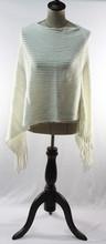 2015 fashion wholesale stripe solid color shawl