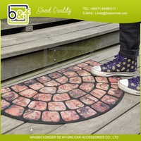 China manufacturer durable blank dye sublimation door mat