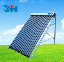 Pessurized heat pipe evacuated tube solar collector