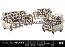 Fabric Sofa Set, Sofa Set, salon, classic sofa - AKM-Martha