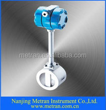 Digital clamp type vortex flow meter for gas/fluid/steam high accuracy saturated flowmeter