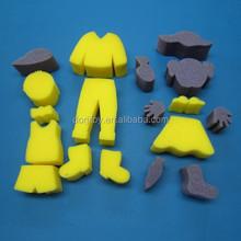 School Products children sponge stamper art Sponge Paint Set