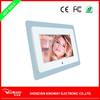 "7 Inch clear Acrylic LED backlit digital picture frame USB drive/SD card wall mount/desktop LED light up digital photo frame 7"""