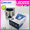 Hot New Products for 2015 LED moto headlight, led headlight 6-light, car h6 led headlight bulbs 6000lm 60w BAOBAO Lighting