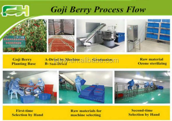 Goji Berries Hot Sell Dried Fruit Dried Goji