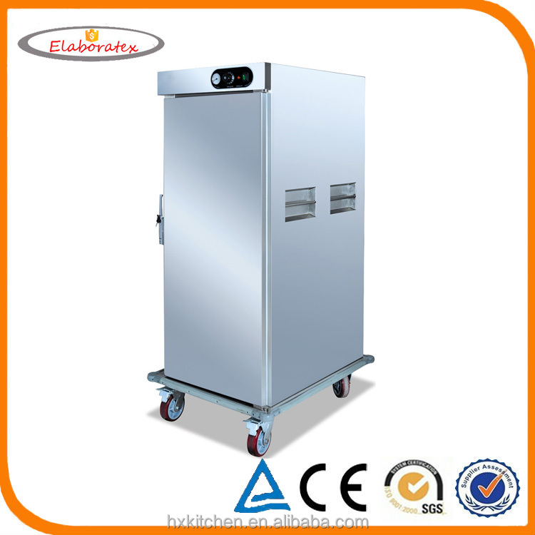 Mobile Food Warmers ~ Single double door mobile moving food warmer cabinet