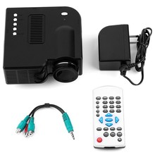 New Cinema Theater Professional Multimedia Digital Mini Led Projector 12V