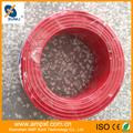 un núcleo de cable de cobre de PVC flexible