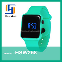 TOP Selling LED Silicone Wrist Watch Blinking Watch