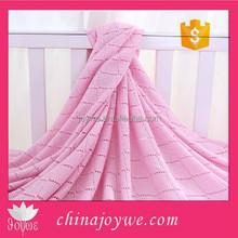Hand Made Crochet Blanket Super Soft Summer Bamboo silk Baby Blanket