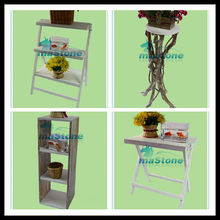 flower pot shelf,fish shape flower pot table