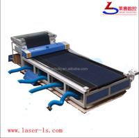Roll to Roll Fabric Auto Feeding Laser Engraving Cutting Machine For Home Textile,Denim,Cloth,Flannel,Velvet,Suede,Carpet