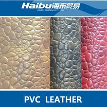 New Design Stone Grain PVC Leather
