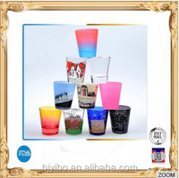 beautiful color glass cup