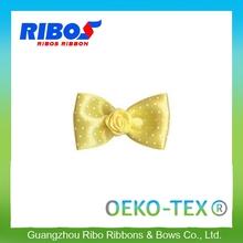 Environmental Friendly Wrap Hair Rhinestone Wholesale Gift Wrapping Bow