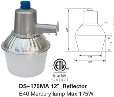 175w mercury vapor street light security yard light for led bulb buy 175w m. Black Bedroom Furniture Sets. Home Design Ideas