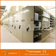 storage and warehouse steel mobile shelving