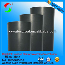 China the most professional pet film rolls for Self-adhesive waterproof membranes