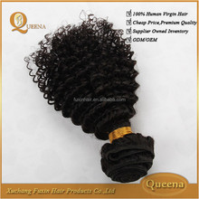 Alibaba china new products cheap 100% unprocessed virgin human afro mongolian kinky curly hair