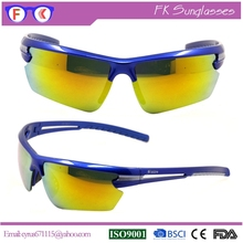 Supper Cool Adult Orange Chinese PC Sport Sunglasses, Motorcycle Sunglasses
