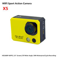 """4K WIFI Full HD Camcorder 1080p Waterproof 50Meter With Remote Controller_2.0""""_Night Version_Cycle Recording_Diving Mode"""