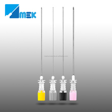 spinal needle types quincke bevel and pencil point type