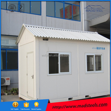 Solar photovoltaic panels are available for indoor power container house